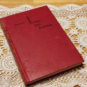 Gilmartin Increase Vocabulary vintage textbook